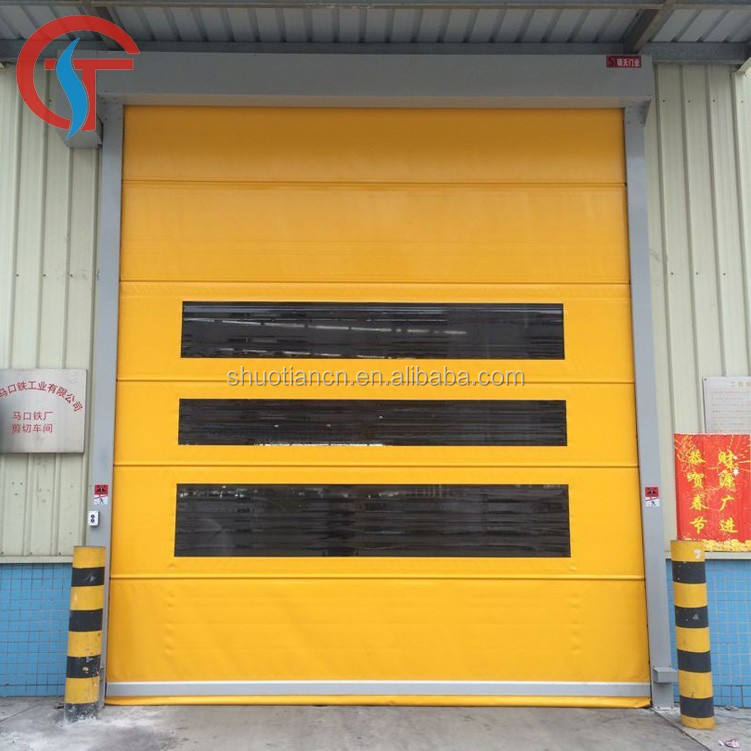 Automatic Industrial quick high speed roller shutter door