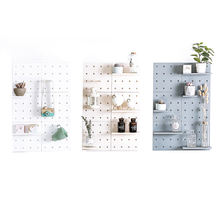 Product Ideas Home Bathroom Organizer Decor Plastic Dismountable Free Punching Hole Plate Wall Decoration Storage Rack