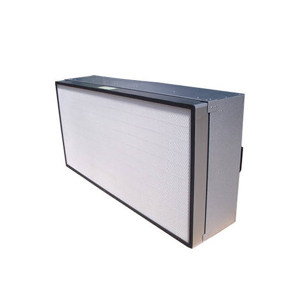 HEPA Terminal filters with laminar flow cabinet