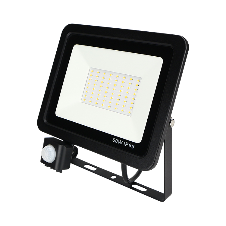 Most powerful waterproof ip65 50 w 야외 motion sensor led 홍수 빛