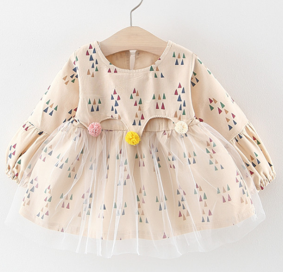 0-3 years baby girl cute and good quality autumn dress 15