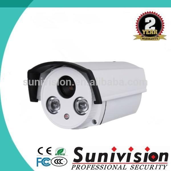 Venda quente 2 matriz de leds 1.3 megapixel visão noturna ivc hd da câmera de segurança