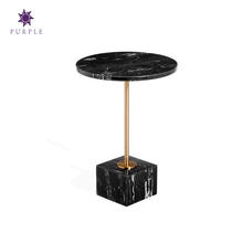 2019 Home Furniture Luxury Marble Table Modern Coffee Table Office Furniture Restaurant Cafe Sofa Side Table