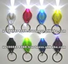 LED Key Chain with Keyring and batteries
