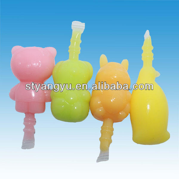 Fruity Hand Bag Penguin Jelly/ Animal Shapes Pudding Jelly Candy