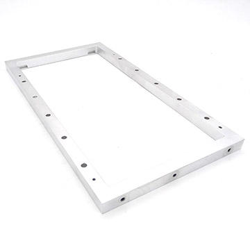 Clear Anodized Mirror Frame Aluminum Extrusion Parts with high quality and good price