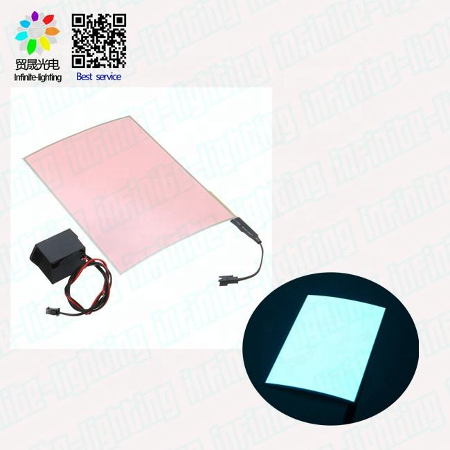 2019 new light paper / flexible el backlight for party and advertising oem logo