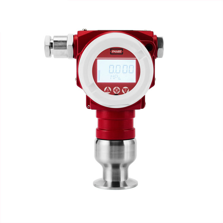 SMP858-TST-H clamp mounted flush diaphragm pressure transmitter
