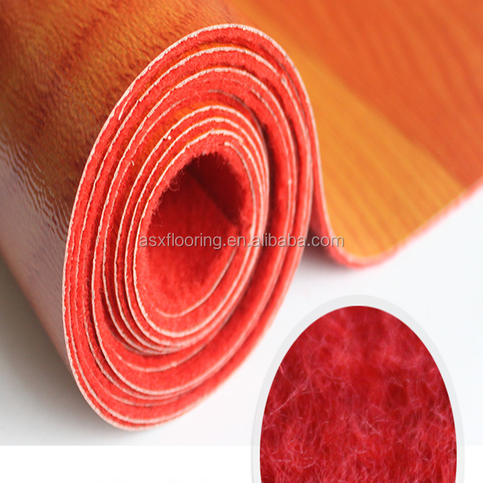 0.7mm-1.2mm Water proof PVC Vinyl Lowes Linoleum Roll Vloeren