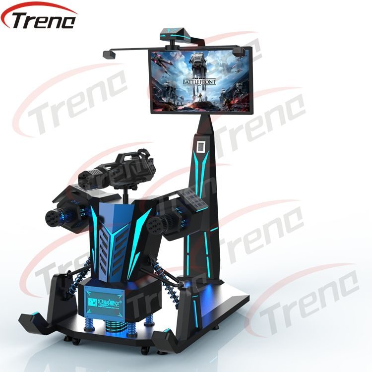 2019 Zhuoyuan Shooting Game Virtual Reality Simulator Gatling VR Simulator