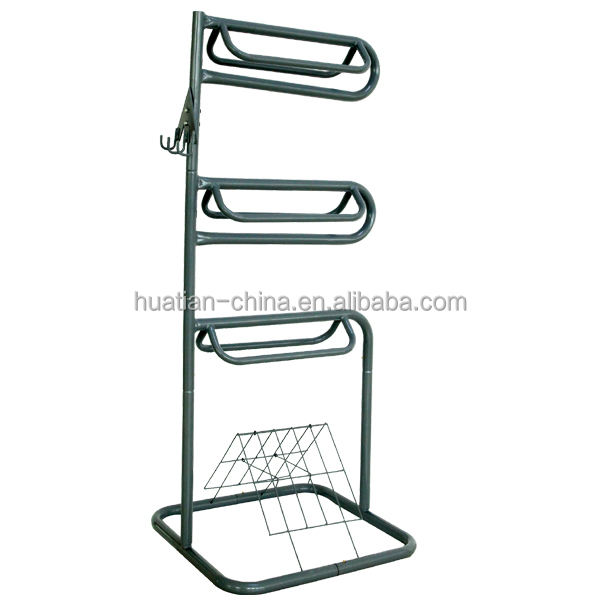 Cavallo da sella rack, 3 TIER CAVALLO DA SELLA RACK, Cremagliera Sella