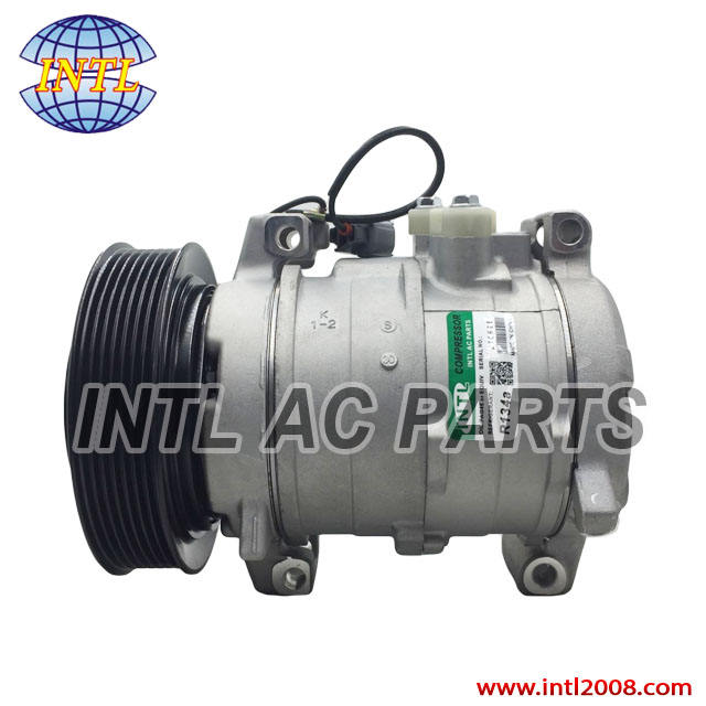447180-4676 For Honda Accord Denso 10S17C Air conditioning compressor