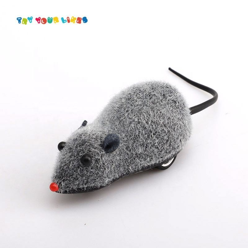 Shantou Cheap Capsule Toys Pull Plush Animal Pull Line Toy Mouse