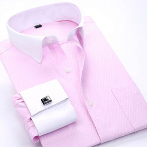 Dress Shirt Men 2019 Plus Size 6XL High Quality Business Shirts Men Chemise