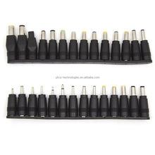 newest version 28pcs laptop notebook universal input dc plug set jack tips