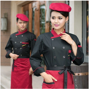 Chinese Restaurant Uniform, Chinese Stijl Uniform, Traditionele Chinese Chef Jas