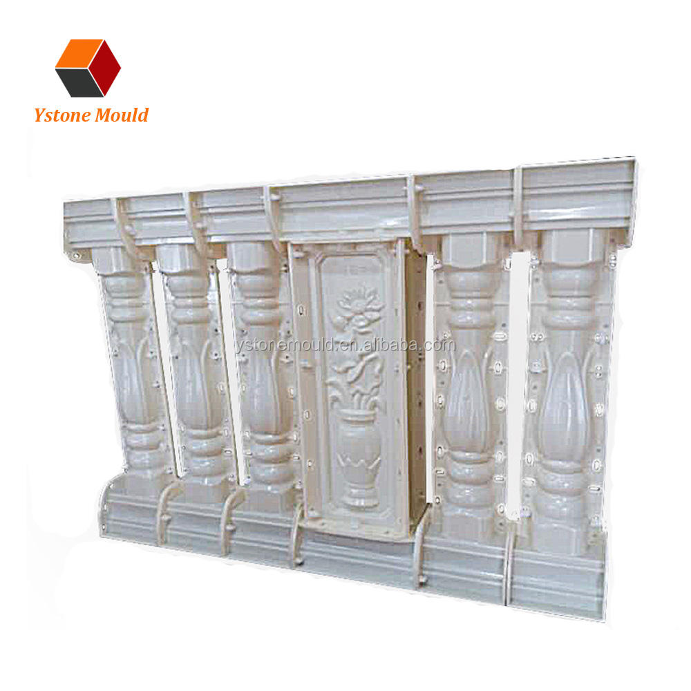 Factory best price concrete pillar baluster plastic mould for sale