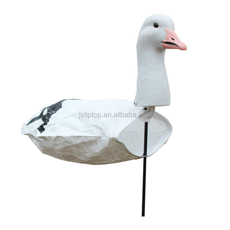 new style SGS/CES certificated snow goose decoy windsock