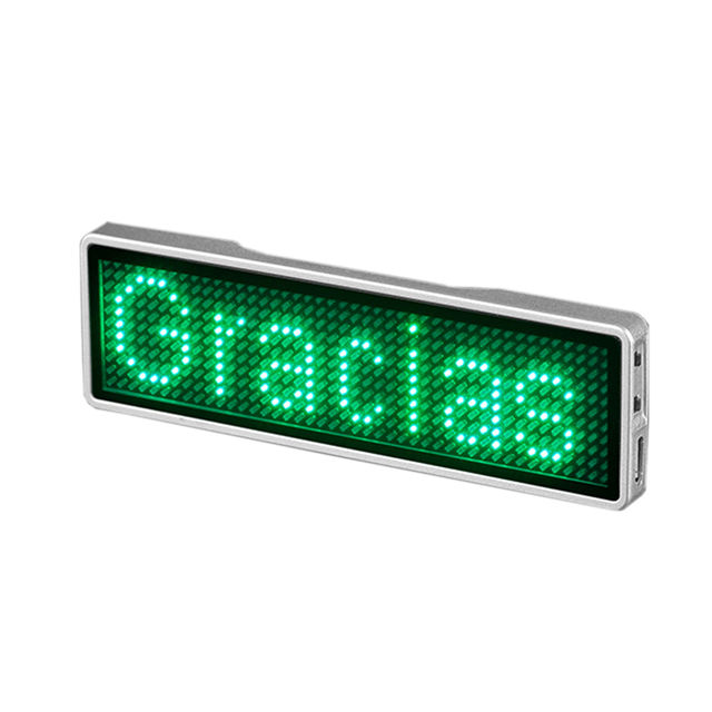 Promotional programmable Price Badge Name Tag Led
