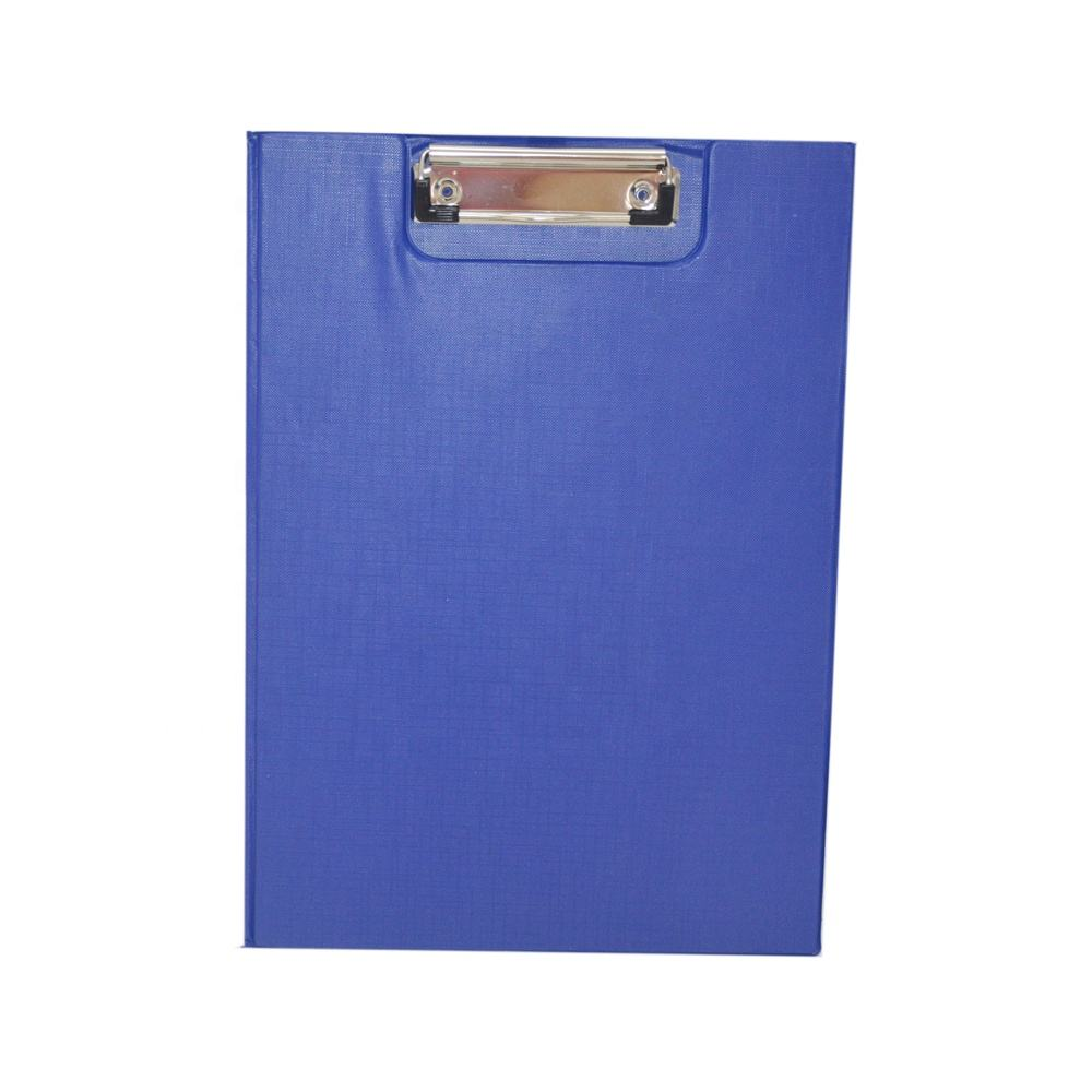 wholesale office folding plastic a4 paper clip board for promotion