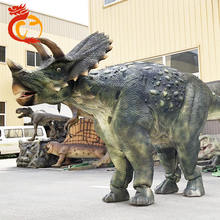 Life Size Dinosaur Mascot Puppet Suit Triceratops Costume