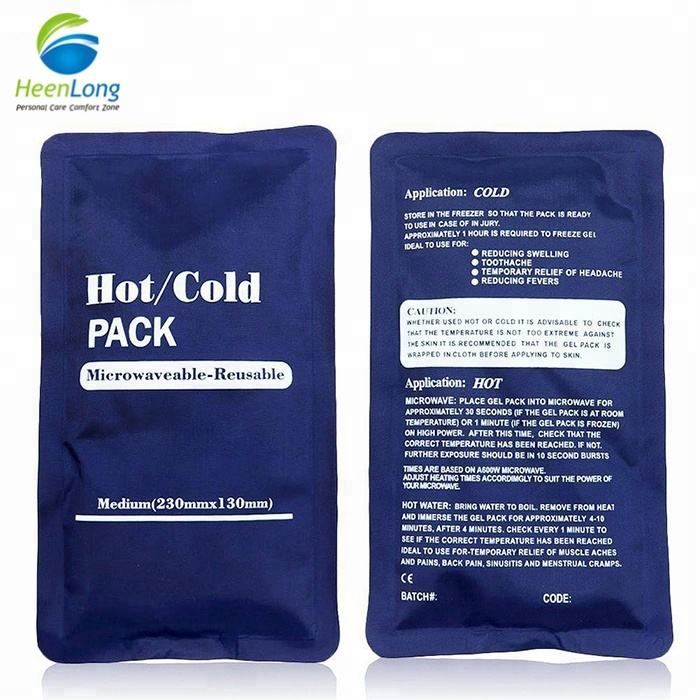 Body Healthcare hot cool pack for neck refreezable ice heat gel packs