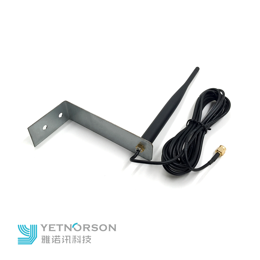 868mhz black rubber whip dipole antenna with swivel rotating SMA male connector