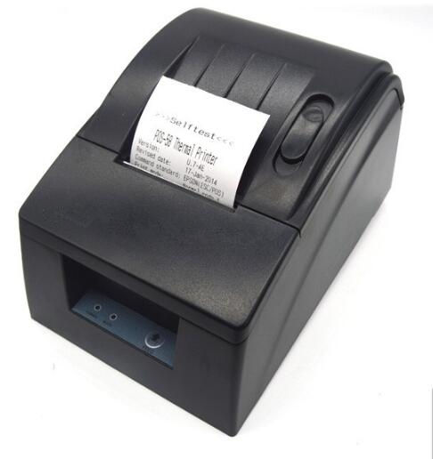Forma intelligente 58mm Thermal Receipt Printer per Tutto il Sistema POS & USB Interfaccia Seriale Parallela Opzionale