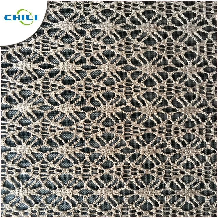 Wholesale Polyester Spandex Embroidery Lace Organza Fabric Leather In China