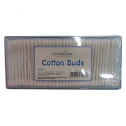 500pcs Blister Card Packing Plastic Swab