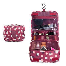 Large Capacity Cosmetic Hanging Toiletry Bag for Travelling