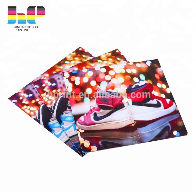 2019 China shenzhen factory high quality clothing and shoes or company production catalog printing