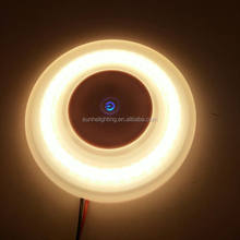 High power Round new model 12v 6w LED interior RV ceiling dome light for motorhome,yacht,marine