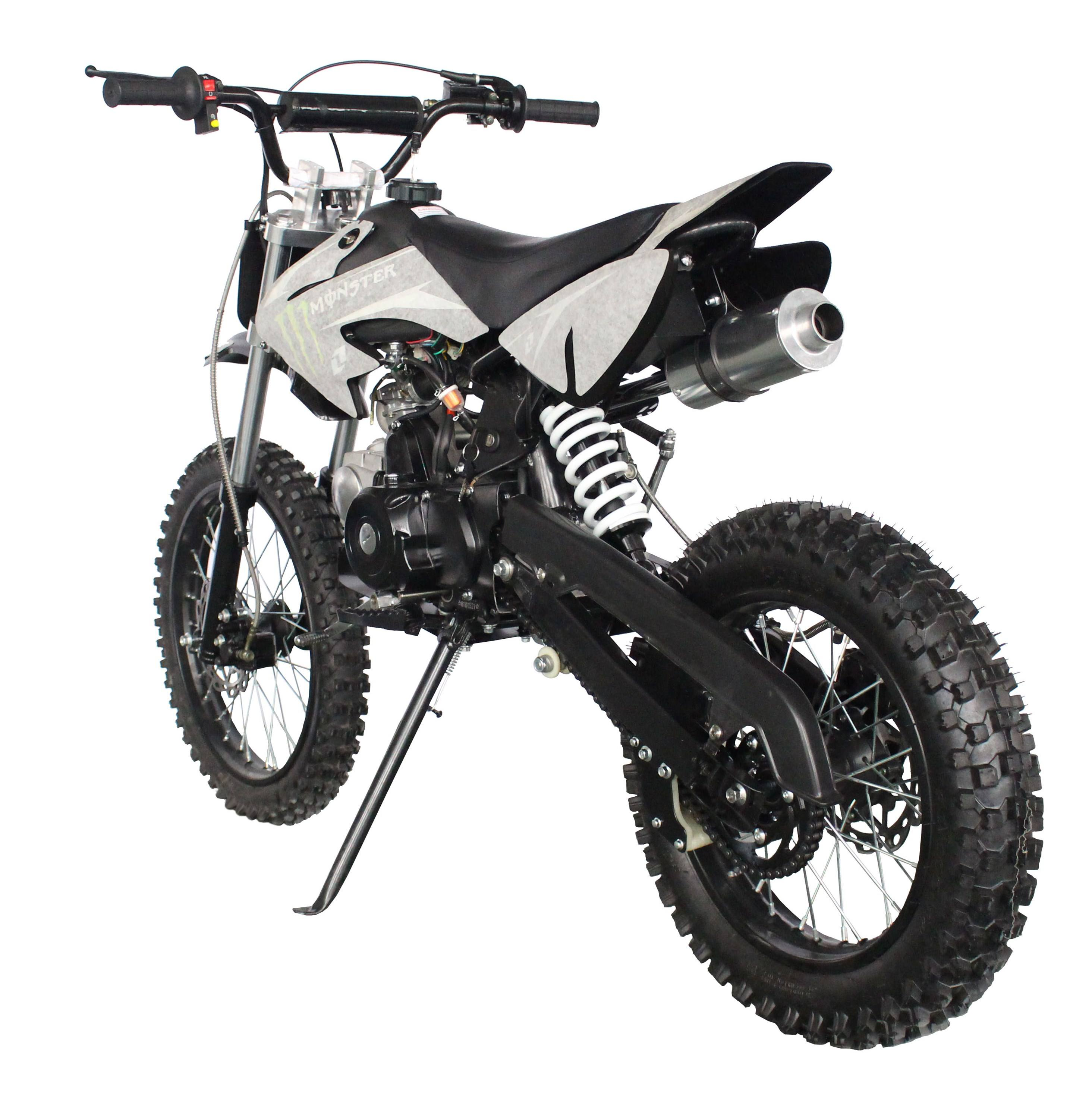 Hot sale factory direct kick start 125cc 4stroke kids gas powered mini dirt bike for sale