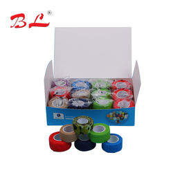 Wholesale Idealplast Colorful Cohesive Bandages Self-adhesiv