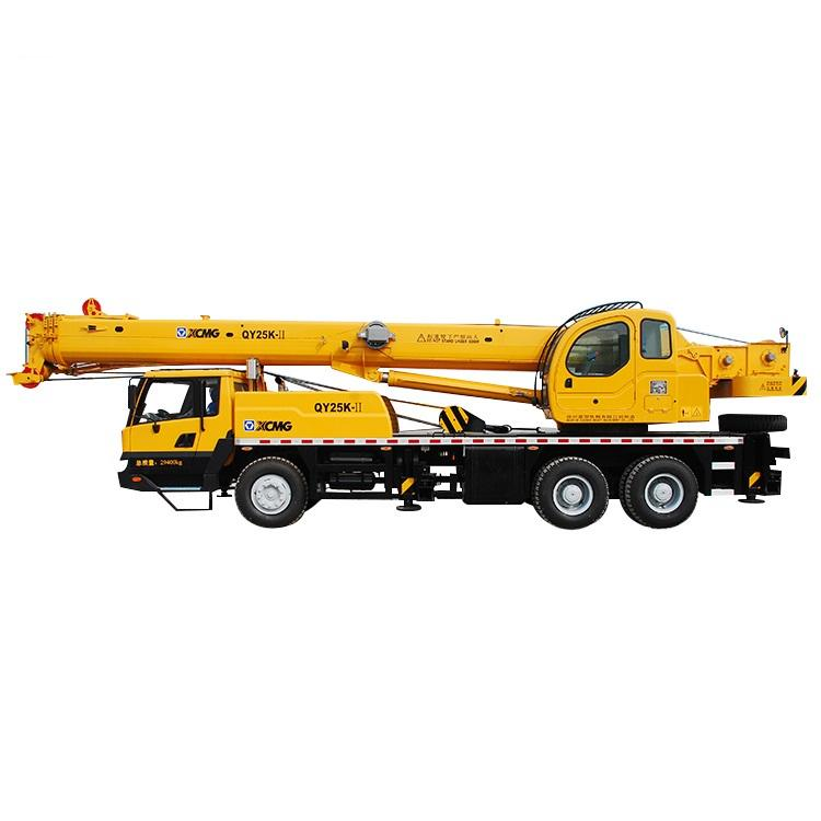 4 Section 25ton Mobile Truck Crane Hydraulic Lift Construction Crane 42 Meter Height QY25K-II