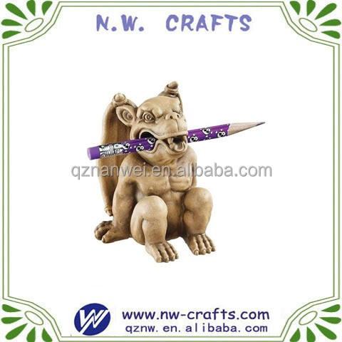 Traditinal oggetti decorativi e figurine statue gargoyles <span class=keywords><strong>portapenne</strong></span>