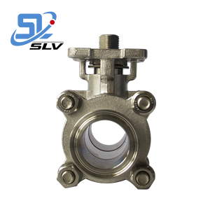 SUS304 Stainless Quick Coupling Plug Ball Valve with High Platform