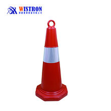 sand filled PE road cone