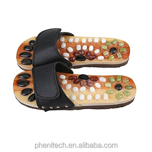 Low Price Foot Acupuncture Acupoint Massage Shoes Reflex Massage Slippers Health care Foot shoes Moxibustion Massage