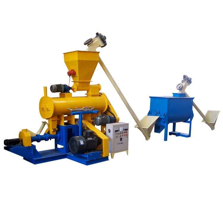 Fish Feed Twin Screw Extruder,Fish Floating Pellet Machine,Fish Feed Making Machine Of Taiwan