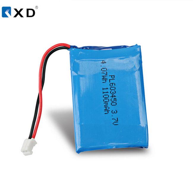 Lipo 3.7V 603450PL 4.2v 1000mah 1100mAh rechargeable battery