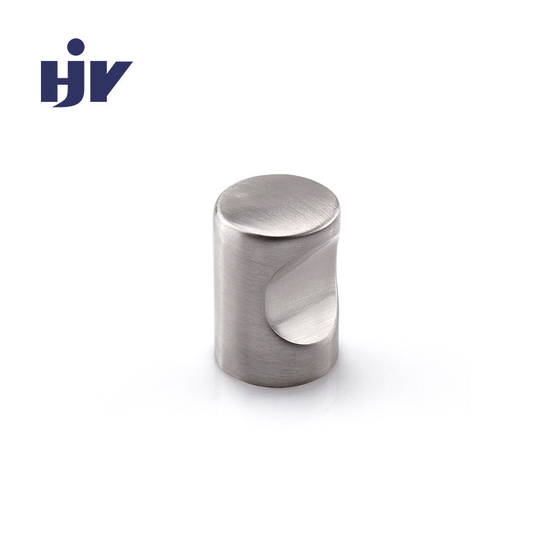Shenzhen hardware factory unique zinc cylindrical cabinet knobs
