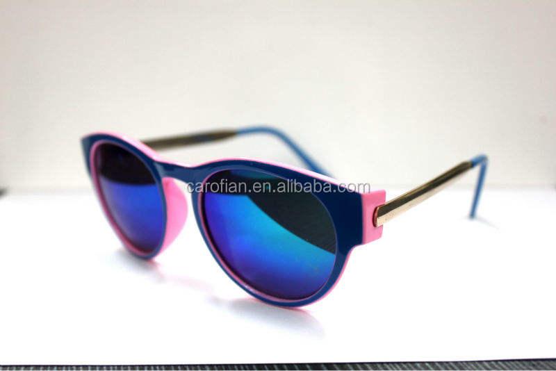 moda yeni UV400 en güzel kadınlar için güneş gözlüğü özel yuvarlak güneş gözlüğü kadın mavi özel yüksek kalitede moda