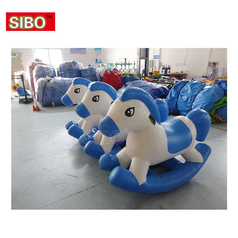 Trade Shows popular riding toy inflatable pony horse cycle toy inflatable rocking horse
