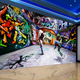 Abstract Art Hip-hop Graffiti Wall Painting Photo Murals KTV Bar Wallpaper