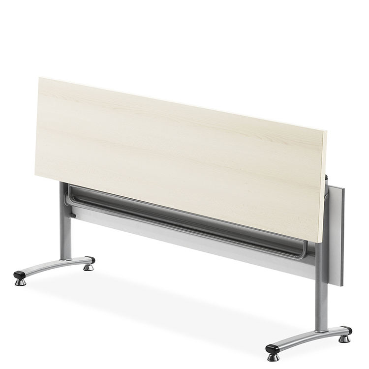 Meeting table conference folding training table steel leg conference table