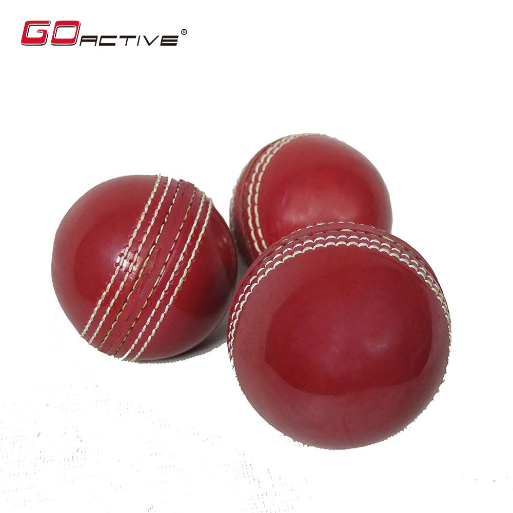 GoActive Classic Hand Stitched Soft Leather Cricket Balls