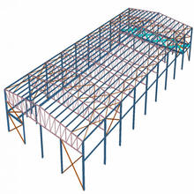 steel structure space frame gas station roofing prefabricated hall buildings