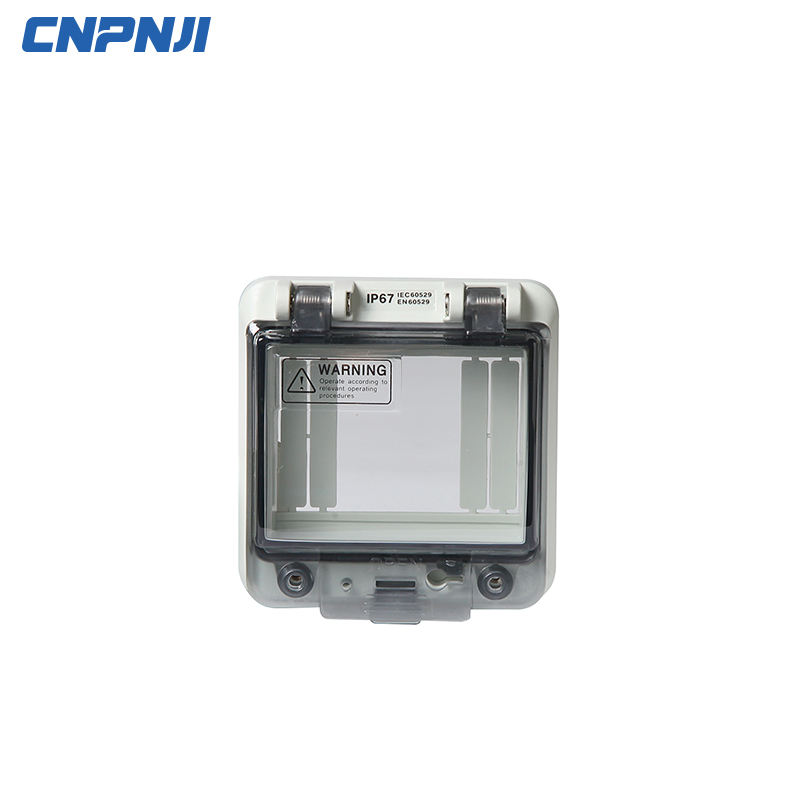 IP67 플라스틱 인클로저 China Waterpoof 야외 Electrical Cable Junction Box 와 고무 씰